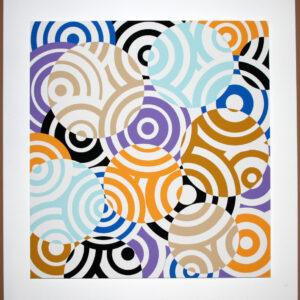 antonio asis interferences cercles de couleurs editionsMAK Mike-Art