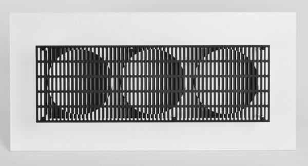 antonio asis vibration 3 cercles noir et blanc editionsMAK Mike-Art