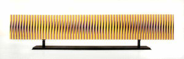 carlos cruz-diez stele horizontale 15 mike-art