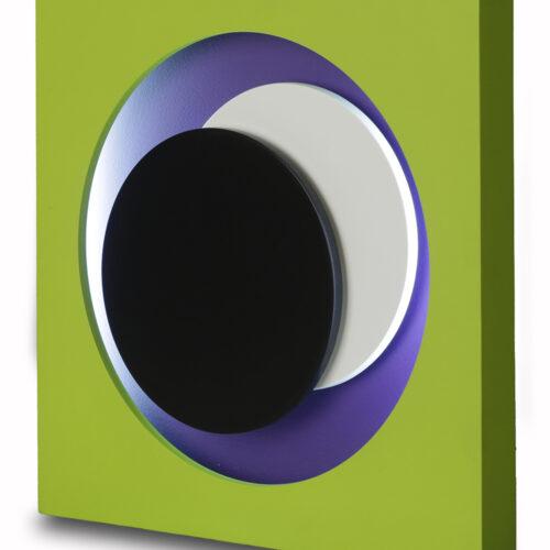 genevieve claisse cercle vert neon editionsmak
