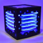 miguel chevalier mini voxels light blue editionsMAK Mike-Art