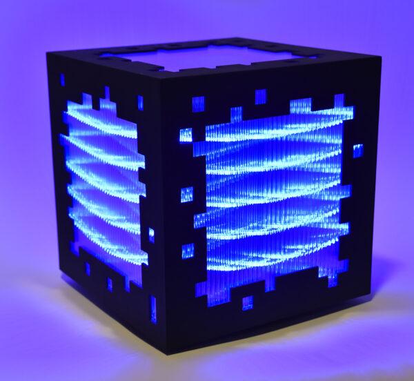 miguel chevalier mini voxels light blue editionsMAK Mike-Art