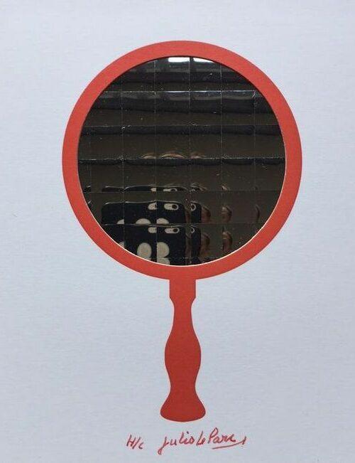 julio le parc red mirror editionsmak Mike-Art