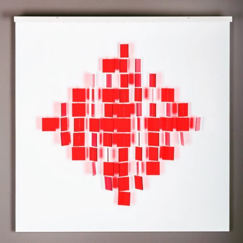 Julio Le Parc Mobile Rouge editionsMAK Mikeart