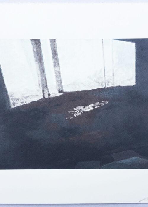 luc tuymans fenetre screenprint Mike-Art