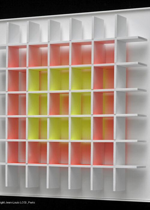 luis tomasello grille chromoplastique A editionsMAK Mike-Art