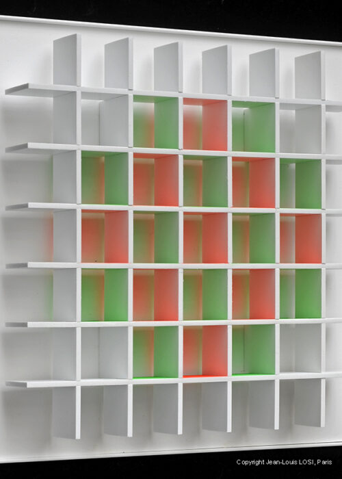 luis tomasello grille chromoplastique B editionsMAK Mike-Art