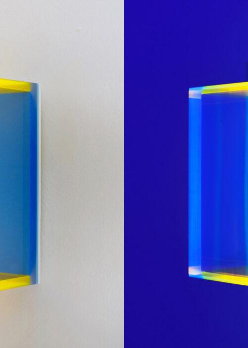 regine schumann color rainbow pastel blue hongkong Mike-Art