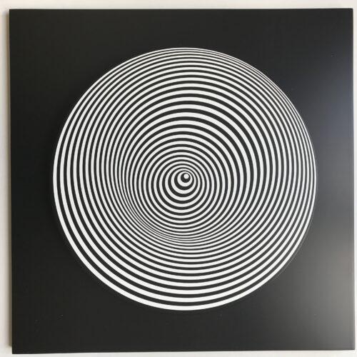 Marina Apollonio Dinamica Circolare sculpture editionsmak Mike-Art-Kunst mikeart.gallery