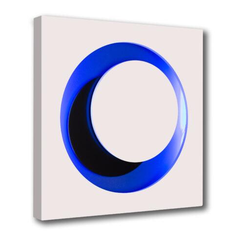 genevieve claisse-cercle-blanc-bleu-neon editionsmak