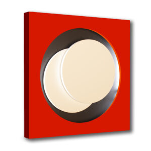 genevieve claisse-cercle-rouge-neon editionsmak