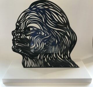 'carlos cabeza' 'womans flow' sculpture limited edition signed editionsmak mike-art-kunst