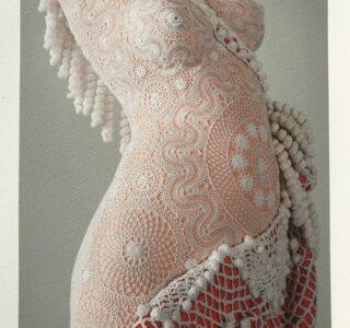 joana vasconcelos naked print signed photograoph mike art kunst kunzt