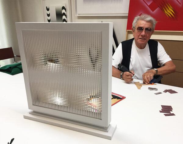 alberto biasi torsioni sovrapposte blanches signing editionsMAK