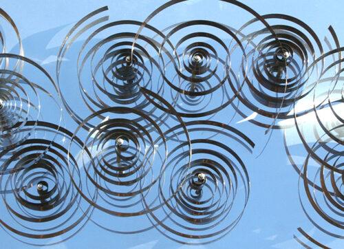 antonio asis 10 spirales mobiles sur acier editionsMAK Mike-Art