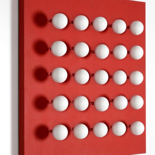 antonio asis boules tactiles sur font rouge editionsMAK Mike-Art