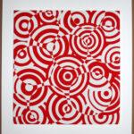 antonio asis interferences cercles rouge et blanc editionsMAK Mike-Art
