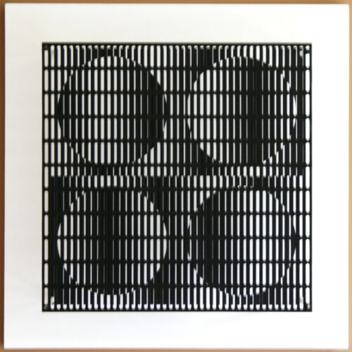 antonio asis vibration 4 cercles noir et blanc editionsMAK Mike-Art
