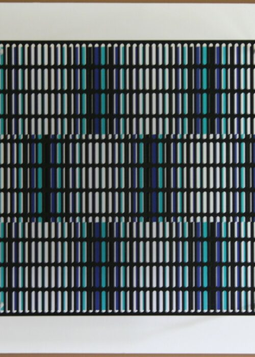 antonio asis vibration bandes noir bleu et turquoise editionsMAK Mike-Art