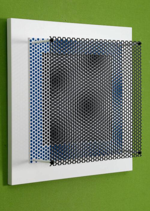 antonio asis vibration carre noir et bleu editionsmak mike art kunst