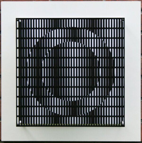 antonio asis vibration cercles noir et blanc editionsMAK Mike-Art
