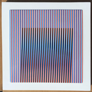 carlos cruz-diez ceramic couleur additive 5 Mike-Art