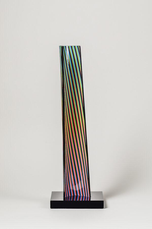 carlos cruz-diez cromovela 12 ceramic Mike-Art.