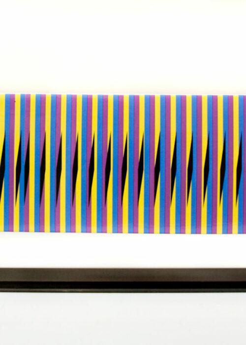 carlos cruz-diez stele horizontale 16 Mike-Art