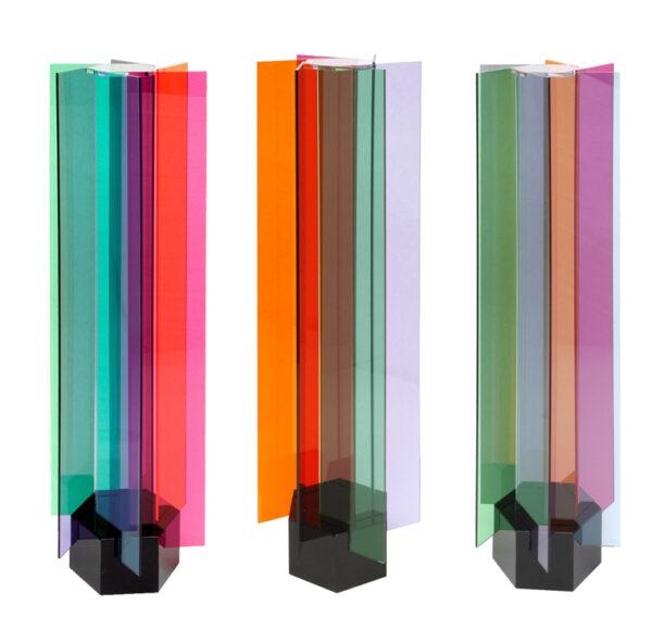 carlos cruz-diez transchromies a 6 elements editionsmak Mike-Art