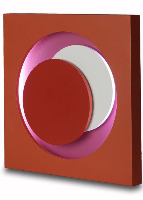 genevieve claisse cercle rouge neon editionsmak
