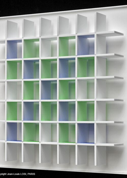 luis tomasello grille chromoplastique C editionsmak Mike-Art