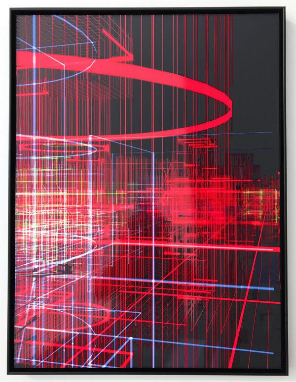 miguel chevalier meta cite filaire rouge editionsMAK Mike-Art