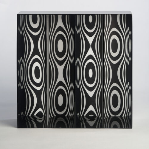 julio le parc edition sculpture ondes par deplacement editionsmak Mike-Art