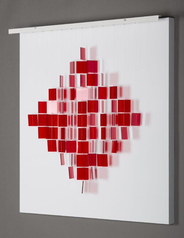 julio le parc mobile losange rouge mobile rouge mike-art