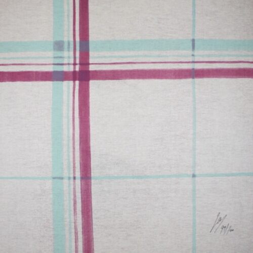 luc tuymans a heart for handicap international screenprint verso Mike-Art.