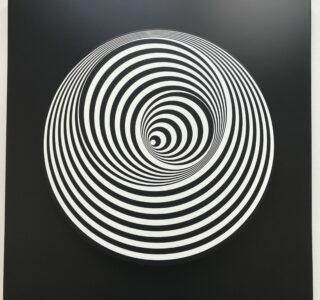 'Marina Apollonio' Vertigo ' Dinamica Circolare 6B Ruotato' editionsmak 'Mike-Art-Kunst'