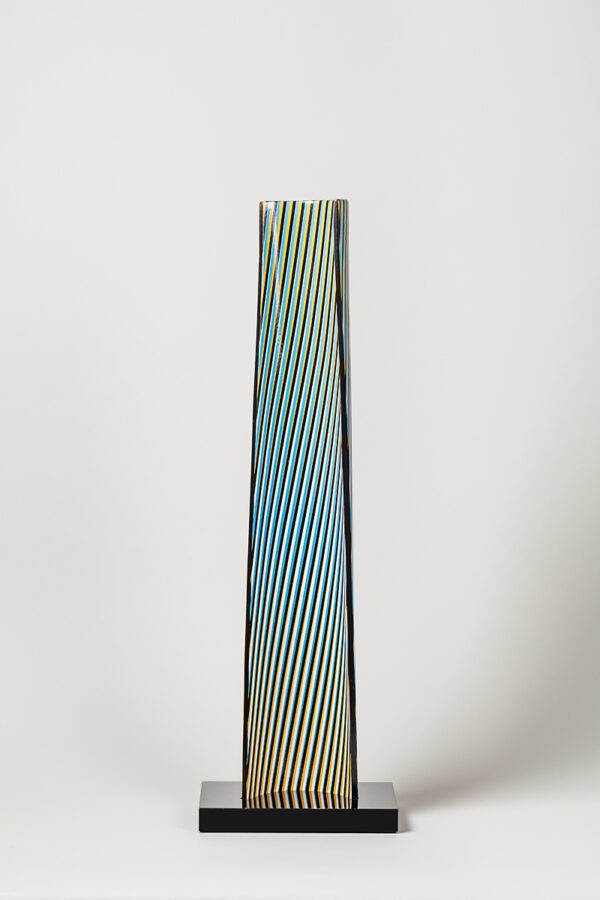 carlos cruz-diez cromovela 22 ceramic Mike-Art.